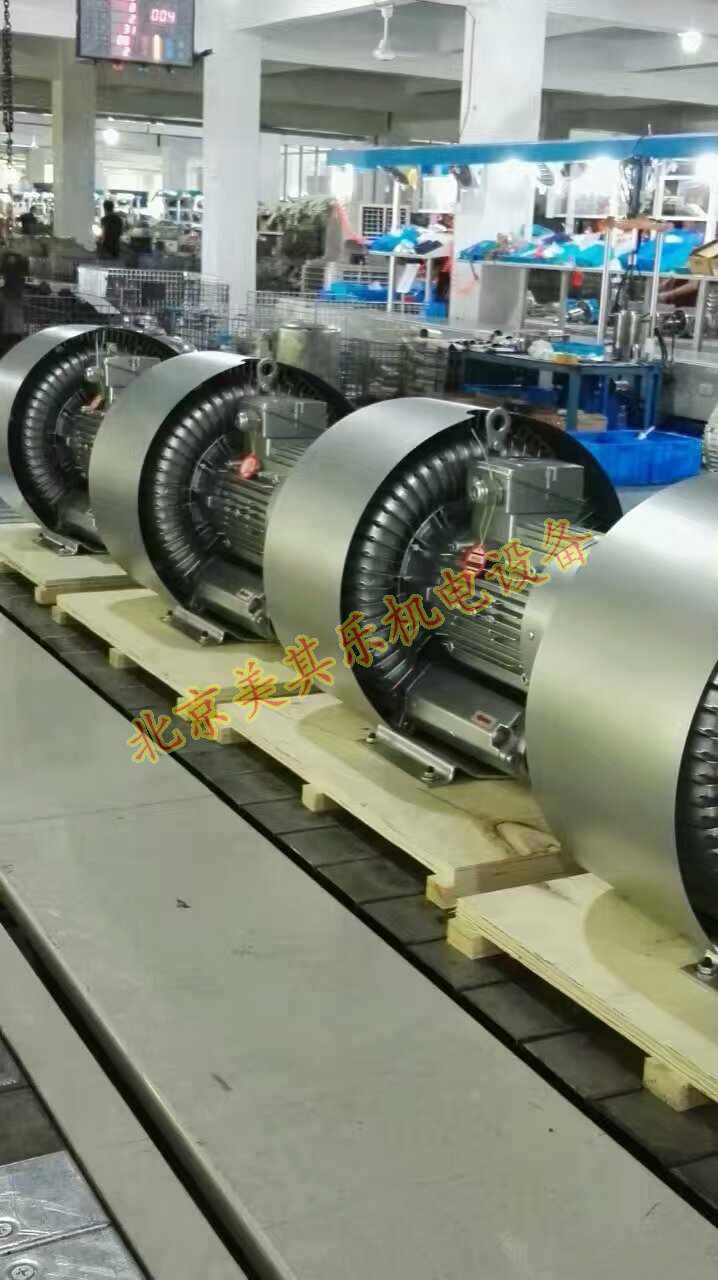 风机生产组装流水线