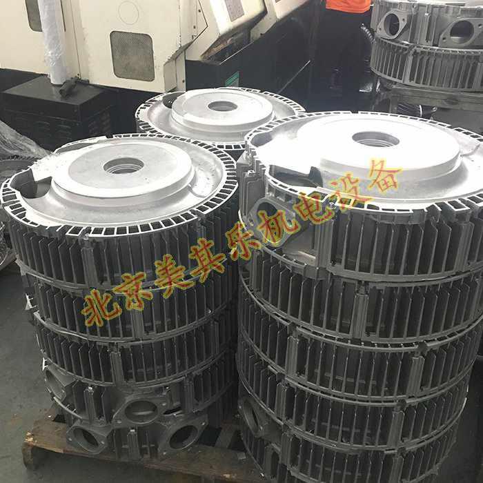 高yagu风机泵体的加工