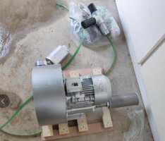 污水处理高压鼓feng机an装效果